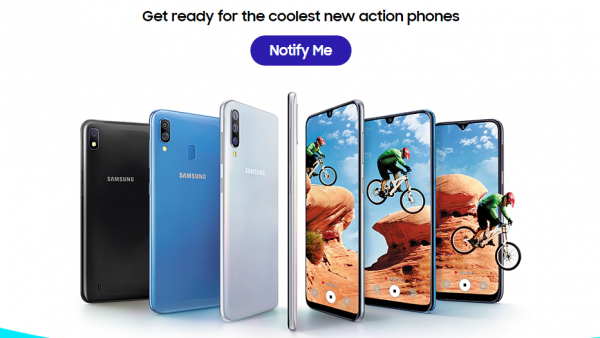 Samsung Listed Galaxy A10 A20 And A30 On Its Official Website Could Launch Today Mobile57 Bh Samsung All Smartphones Galaxy