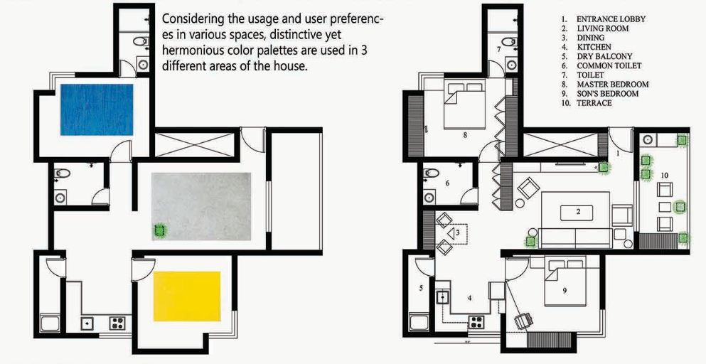 Distinctive Yet Harmonious Apartment Interior Mind Manifestation Design The Architects Diary Apartment Interior Design Interior