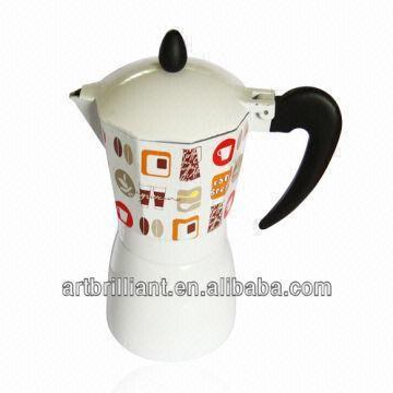 6cup Spanish Coffee Maker Aluminum Percolator Pot