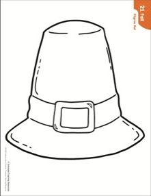 Fall pilgrim hat pattern craftsactivities pinterest use the pattern for anagrams and acrostic spelling activities and poems to make their own wearable pilgrim hats and creating a holiday word wall and story pronofoot35fo Choice Image
