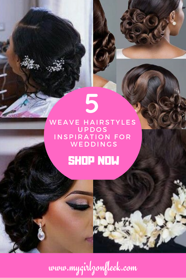 Looking For Great Ideas For Weddings Using Weave Hairstyles