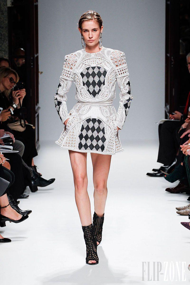 Balmain - Ready-to-Wear - Spring-summer 2013 - http://en.flip-zone.com/fashion/ready-to-wear/fashion-houses-42/balmain-3143 - ©PixelFormula