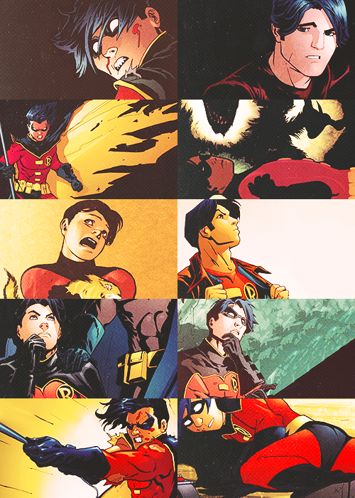 Tim Drake as Robin he always was my favorite robin & then Jason. I grew up with Tim so he always my favorite