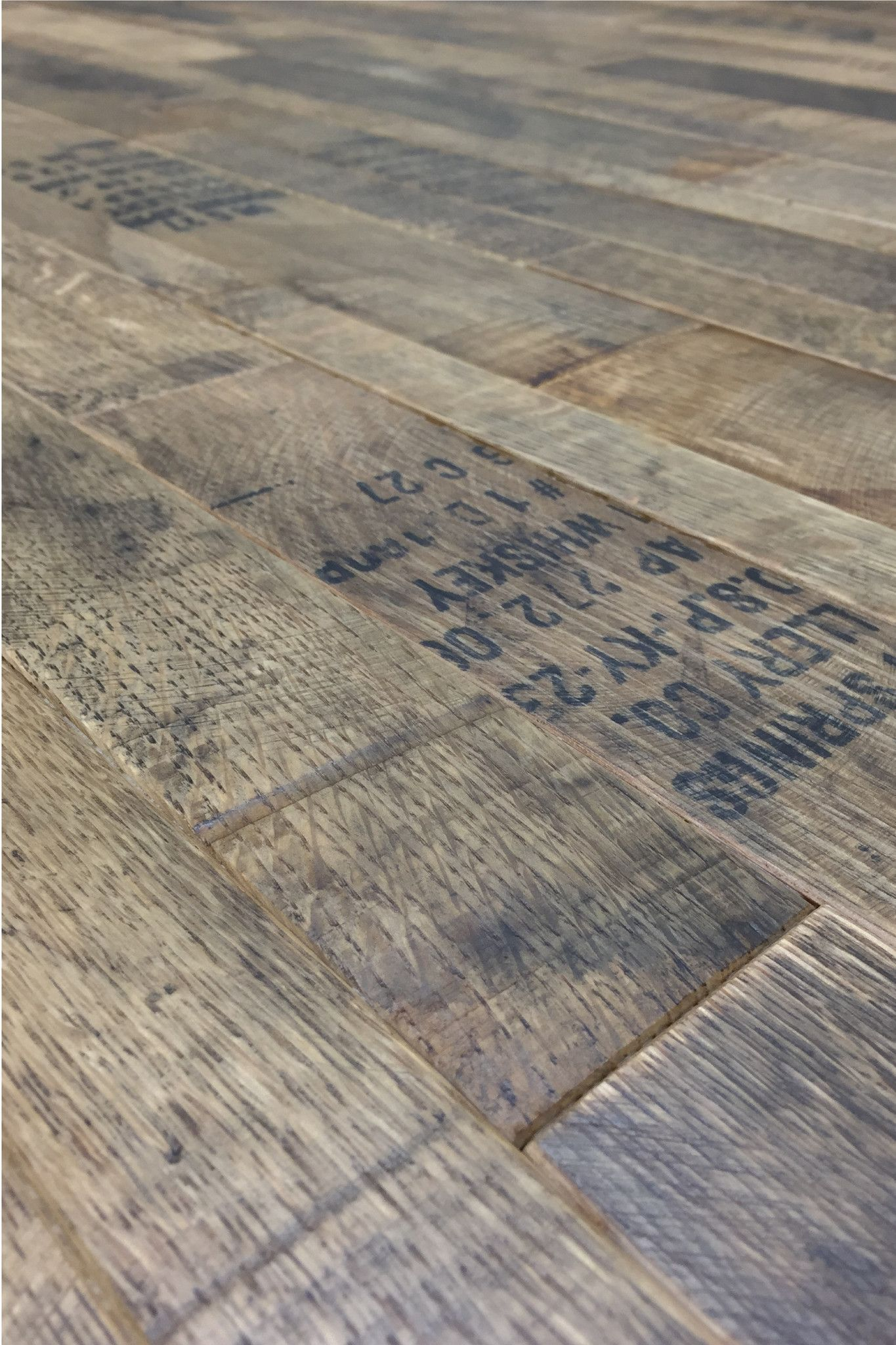12sf Of Reclaimed Whiskey Barrel Oak Cask Coopersmark Flooring For Just 22sf We Meticulously Handcraft These Barrels Into Striking Surfaces