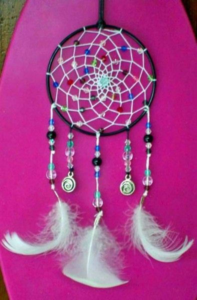 l 39 attrape reves dream catches dream catcher native american crafts et projects to try. Black Bedroom Furniture Sets. Home Design Ideas