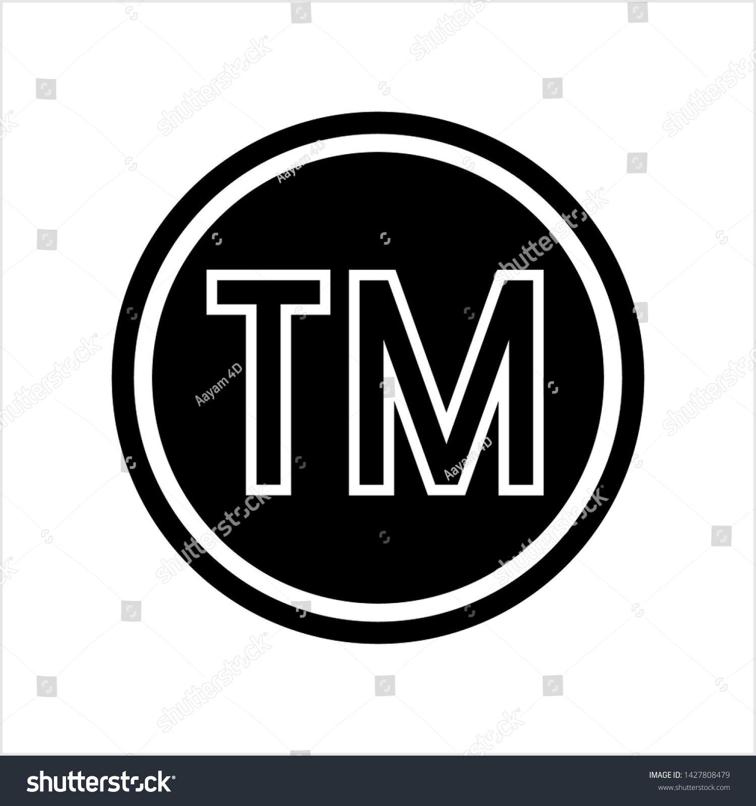 Tm Trademark Symbol Icon Tm Symbol Unregistered Trademark Symbol Icon Vector Art Illustration Ad Affilia Trademark Symbol Vector Art Illustration Symbols