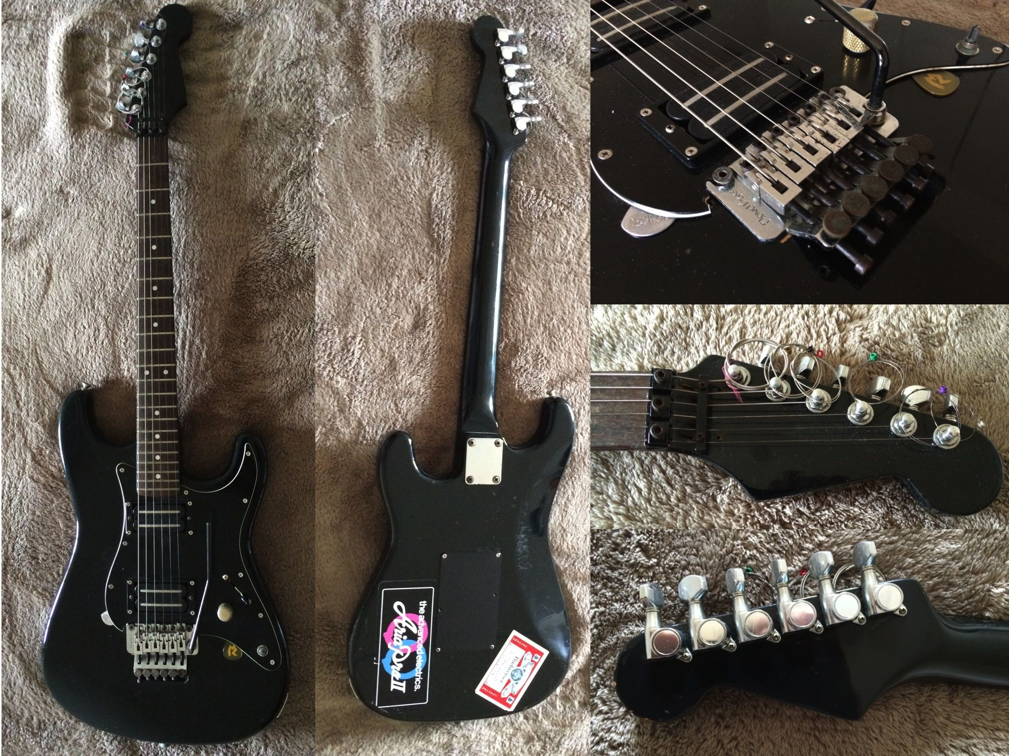 Early 80s aria pro ii stratcaster style guitar tokai guitar co early 80s aria pro ii stratcaster style guitar tokai guitar co made body asfbconference2016 Gallery