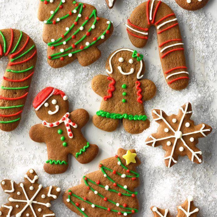 Gingerbread Cutout Cookies Recipe Taste of Home Recipe
