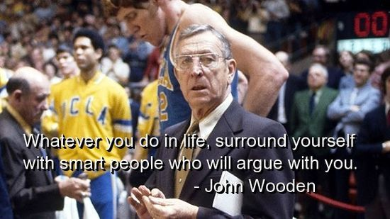 Life wisdom from coach wooden