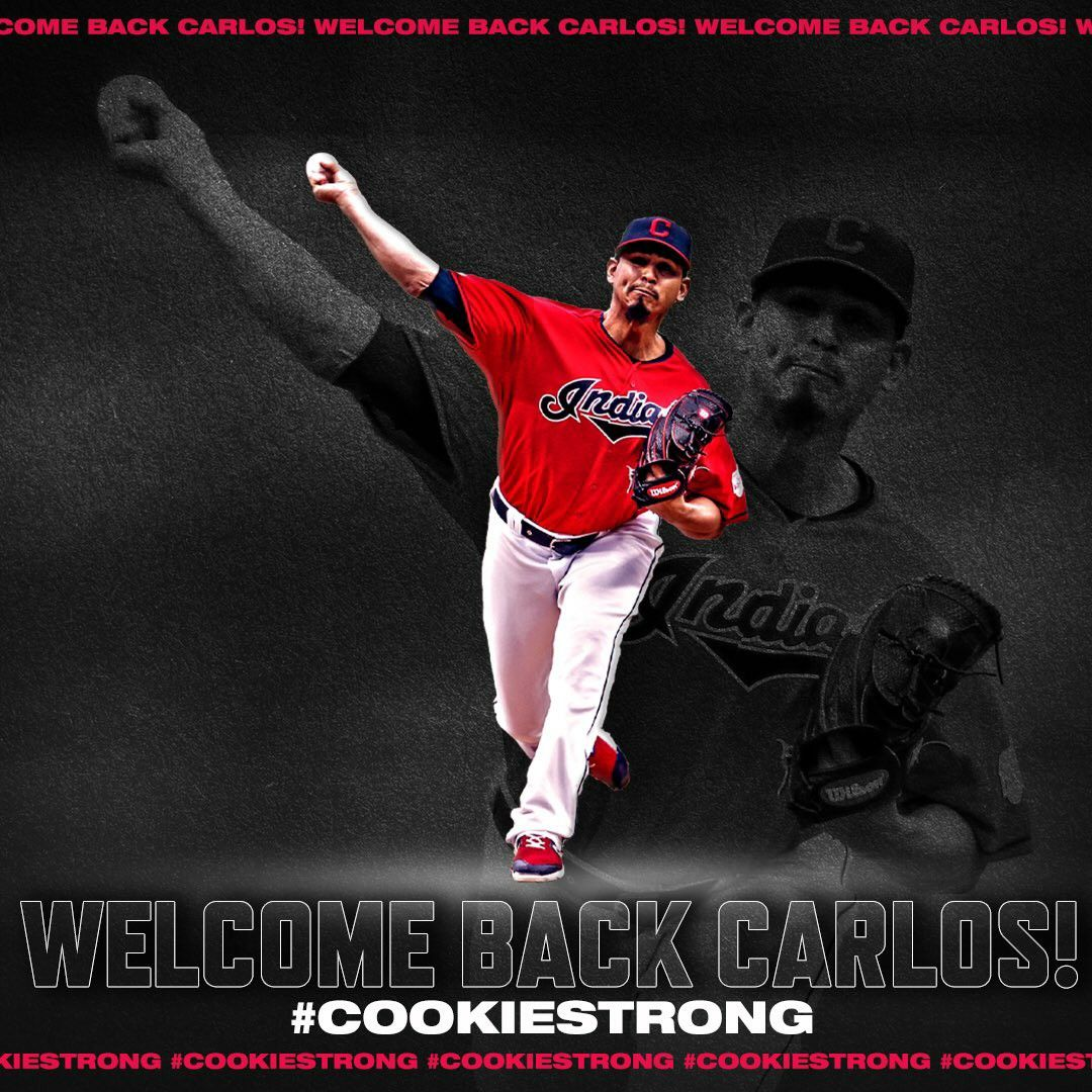 Welcome Back Cookie Cookiestrong Cleveland Indians Cleveland Ohio Cleveland Rocks