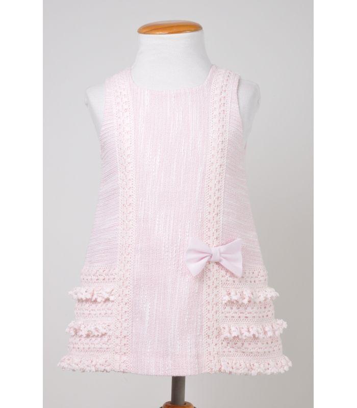 Vestidos corte chanel para ninas