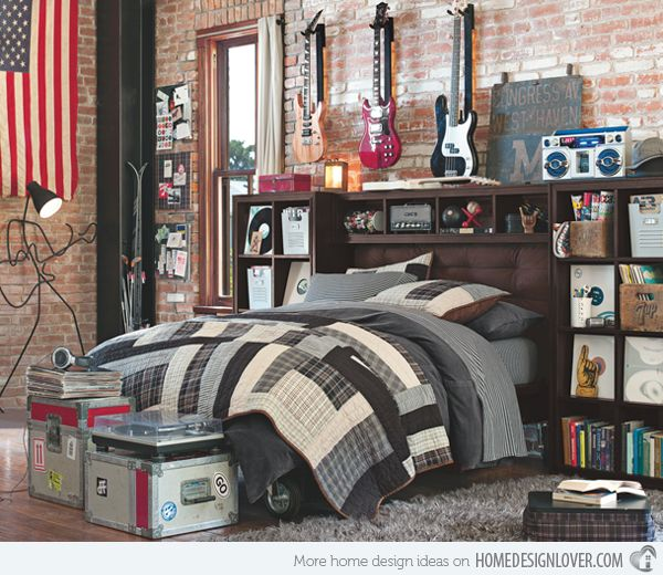 15 Interesting Music Themed Bedrooms - #architecture # ...