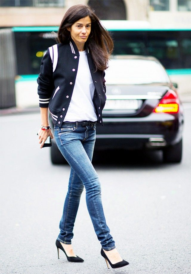 Tip of the Day: How to Make a Varsity Jacket Look Timeless ...