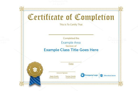 class certification certificate by ryder doty on creative market