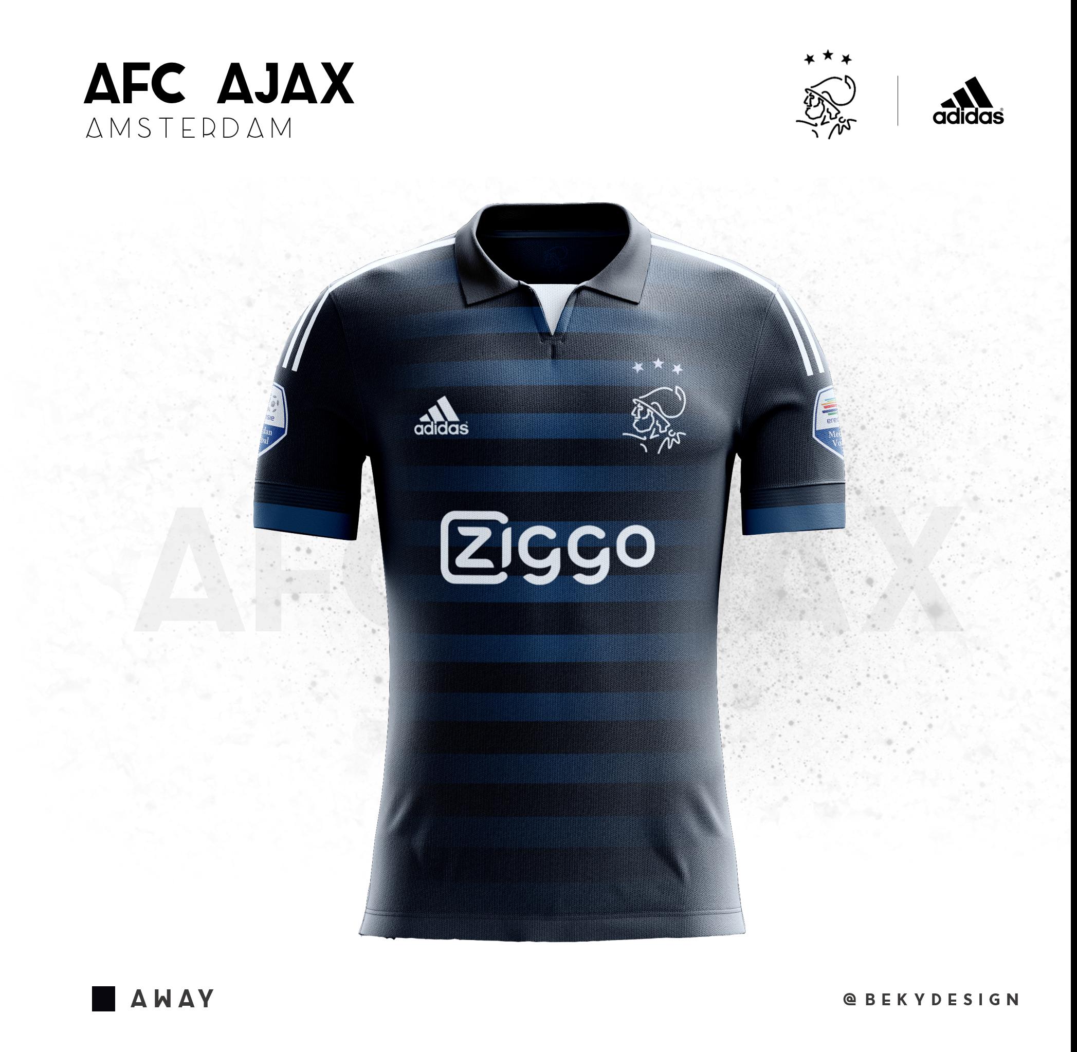 Concepts kits for 5 big teams from The Nerherlands - Ajax Amsterdam- PSV  Eindhoven- FC Twente- AZ Alkmaar- Feyenoord FC 2223d70101c7a