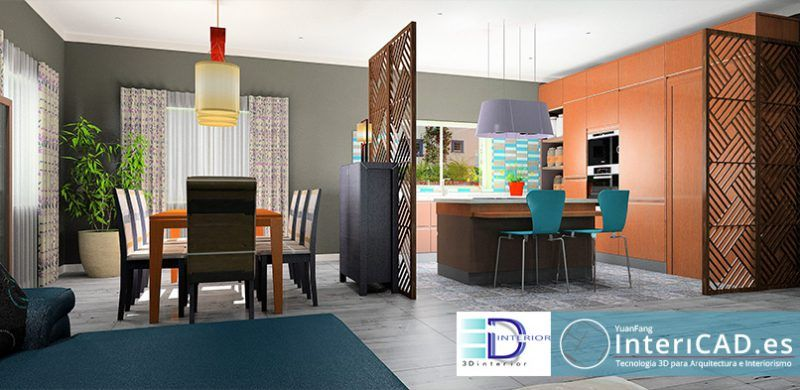 3d interior y nuestro software de decoraci n intericad for Software decoracion interiores