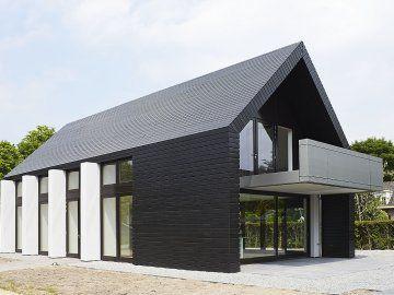 Huis Modern Huis : Modern huis casas de campo pinterest black exterior