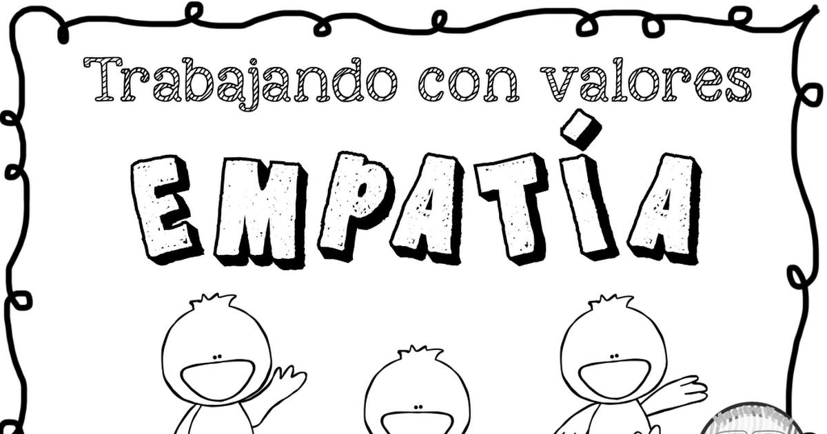 8 Ideas De Empatia Educacion Emocional Empatia Actividades