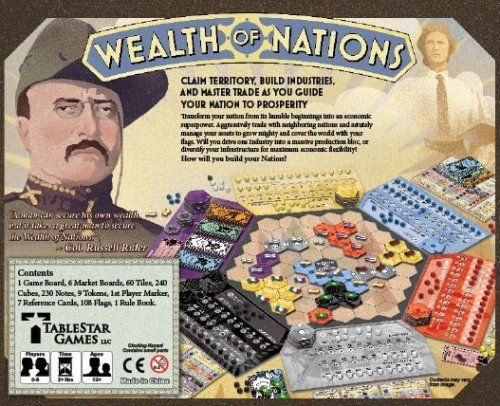Buy Cooperation: The Wealth of Nations Game | Board Games ...