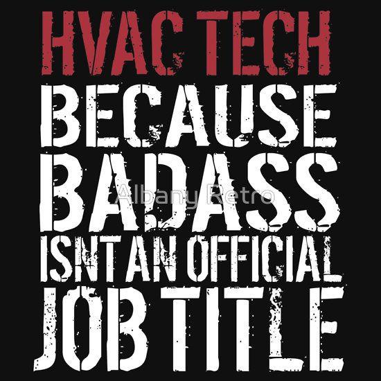 Badass Hvac Tech Dark T Shirt Best Selling T Shirts