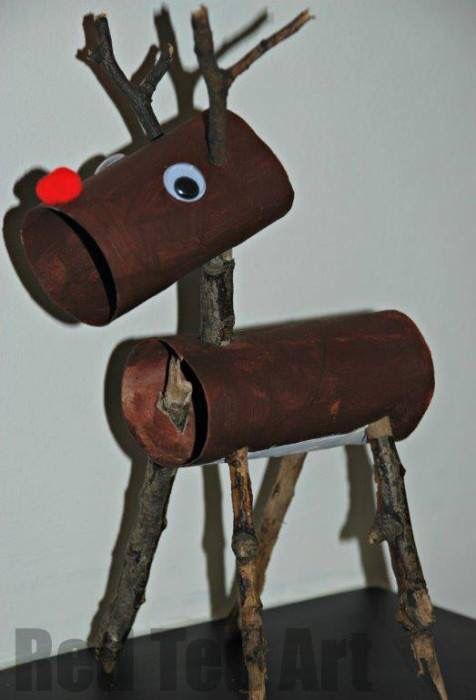 Tin can reindeers