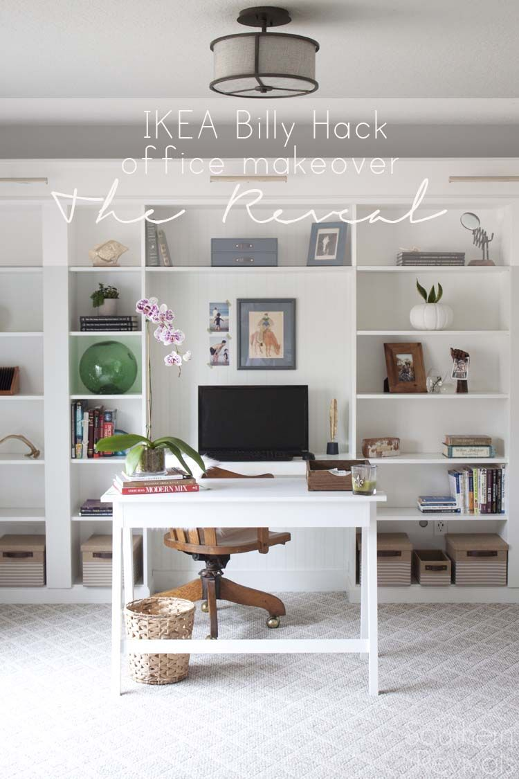 Ikea Home Office Library Ideas