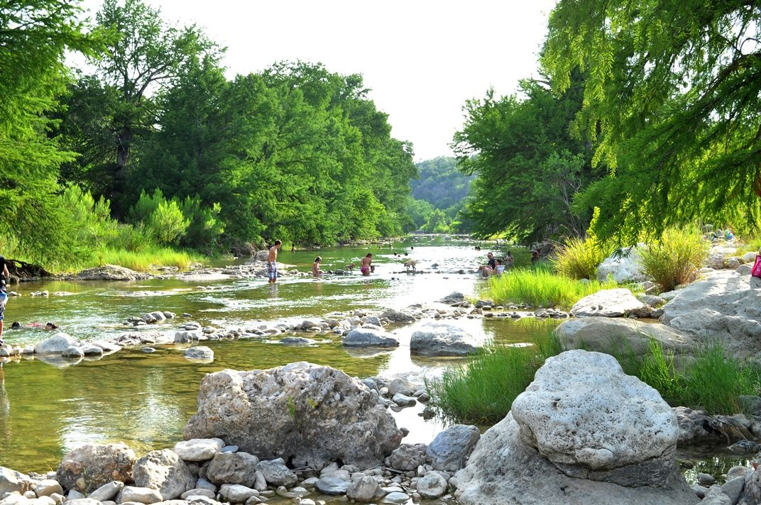 Pedernales Falls State Park near Austin, TX, a place to ...