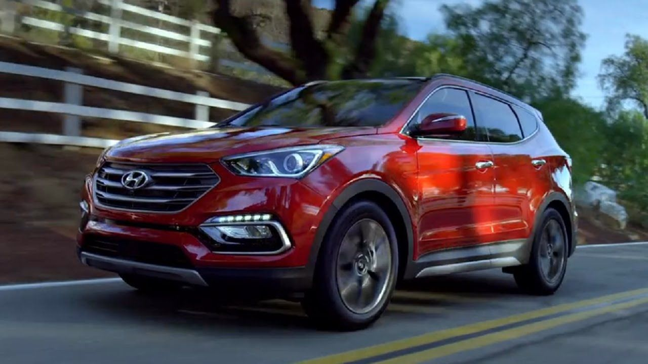 2017 Santa Fe and Santa Fe Sport (605 hp) Footage