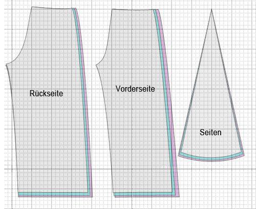 hosenrock schnittmuster hosen pinterest hosenrock schnittmuster und n hen. Black Bedroom Furniture Sets. Home Design Ideas