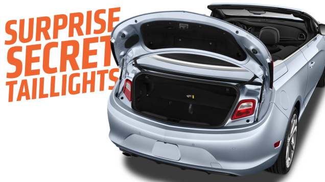 This Is Why Some Cars Have Secret Taillights Inside Their Trunks