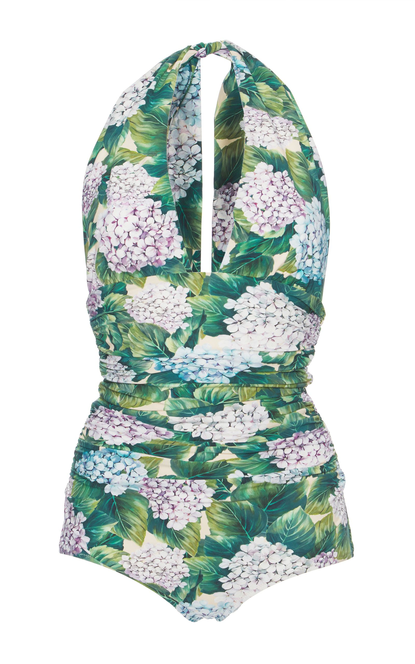 be2998190e DOLCE   GABBANA Floral-Print One-Piece Swimsuit.  dolcegabbana  cloth   swimsuit