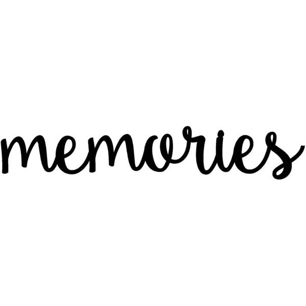 Memories Sign Metal Rustic Word Art Housewarming 270 Zar Liked On Polyvore Featuring Home Decor Wall Text Words