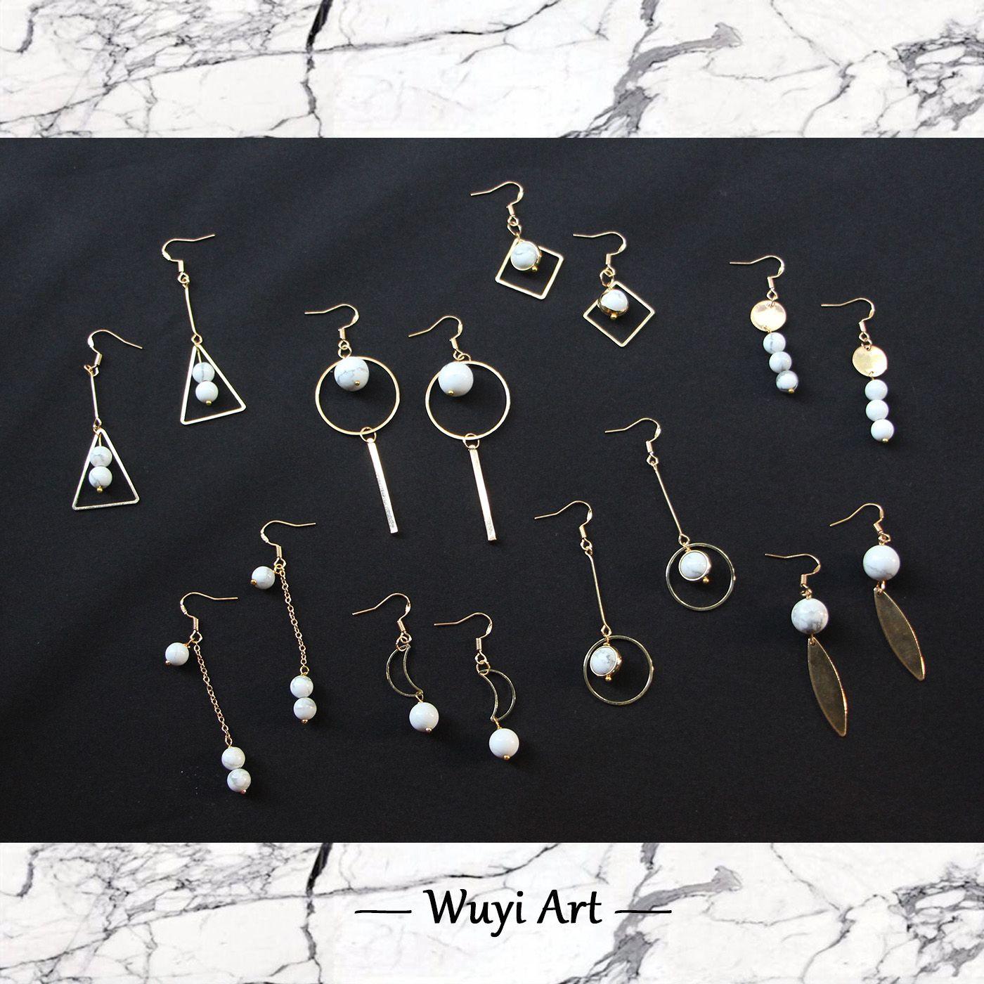 Geometry Earrings | Earrings. Jewelry ideas | Pinterest ...