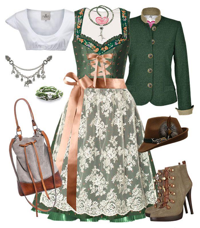 Dirndl und Trachten Magazine - Grünes Dirndl-Outfit für gute Laune
