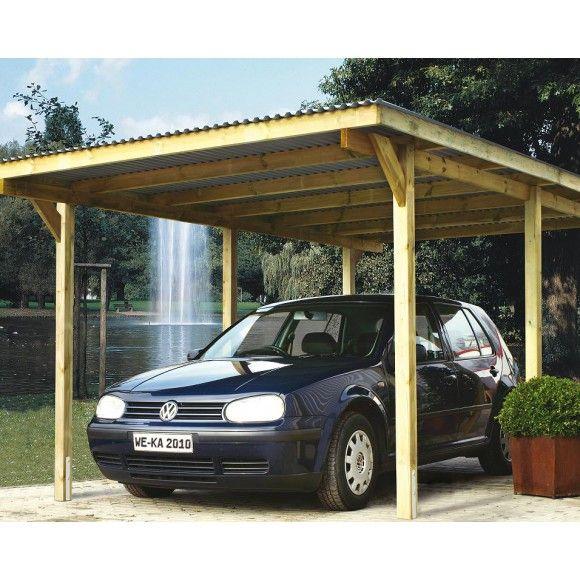 Weka Carport 606 Mein Wekashop De Carport Gebogene Pergola Weka Carport