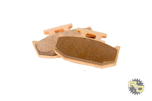 Front Rear Sintered Brake Pads For CanAm Outlander 800 XT Severe Duty 2007-2008