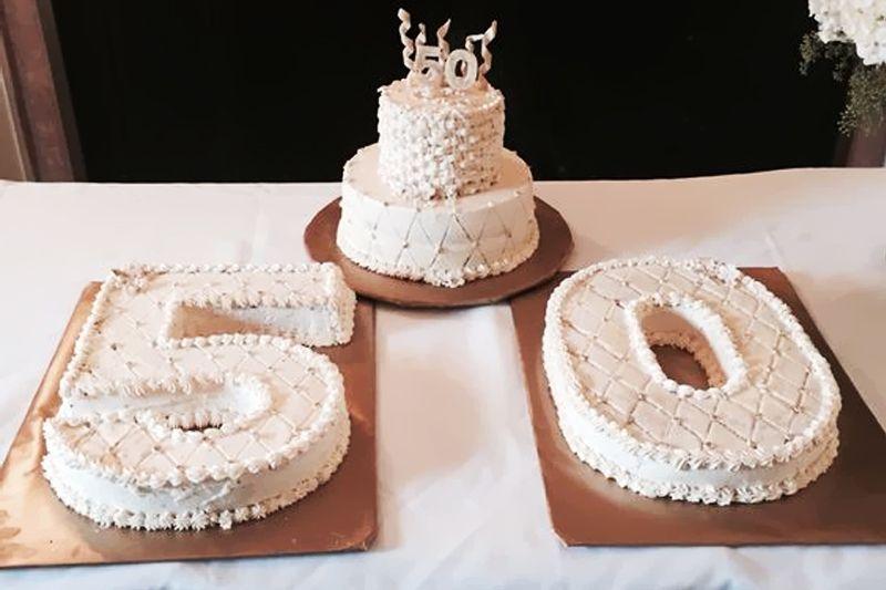 Bodas De Ouro 50 Anos De Casamento Con Imagenes Pastel De
