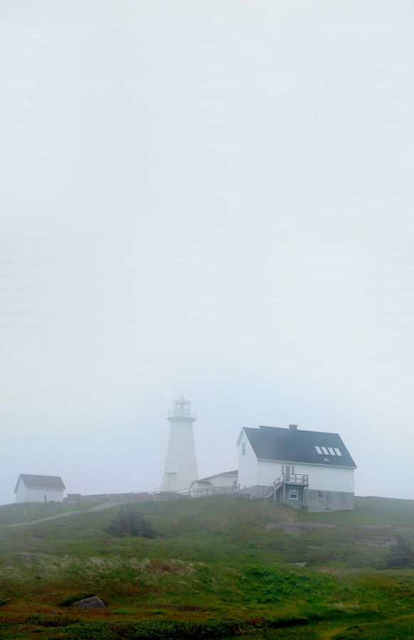 """""""Cape Spear Historical House   Fog Sky"""" by Josh Nelson, via 500px. Nice way to show the need for this navigation aid"""