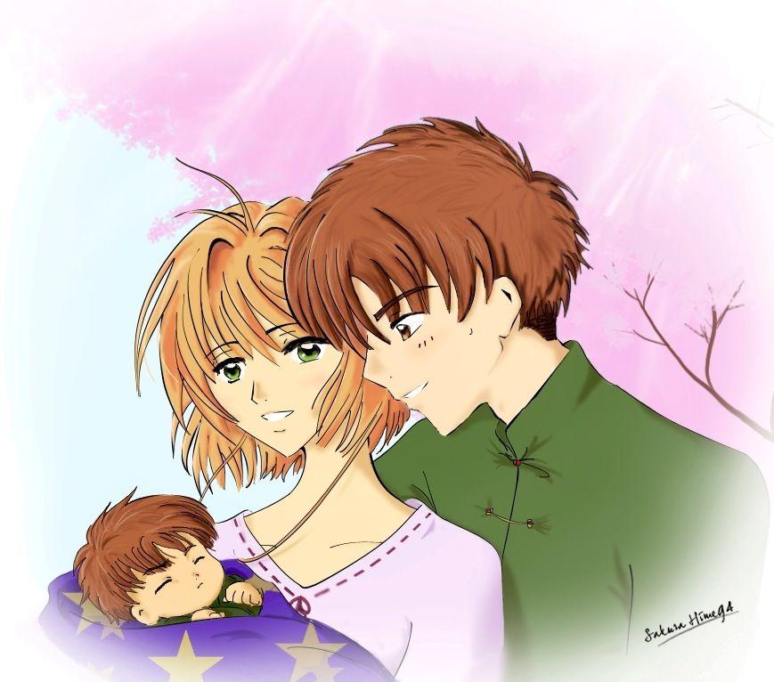 Sakura, Li and their baby. ❤︎