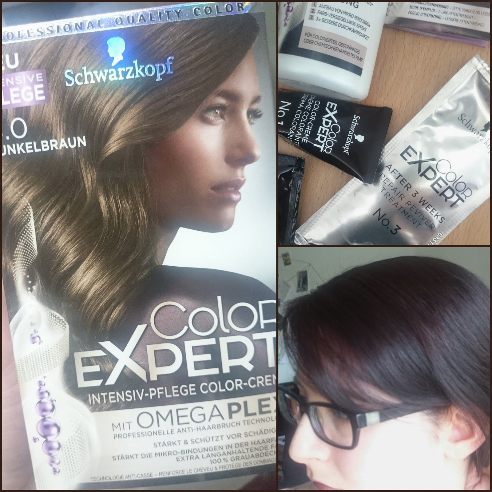 Beauty] Schwarzkopf Color Expert Intensiv Pflege Color Creme mit