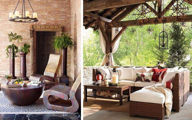 Cómo decorar terrazas amplias y porches | Ideas para el hogar ...