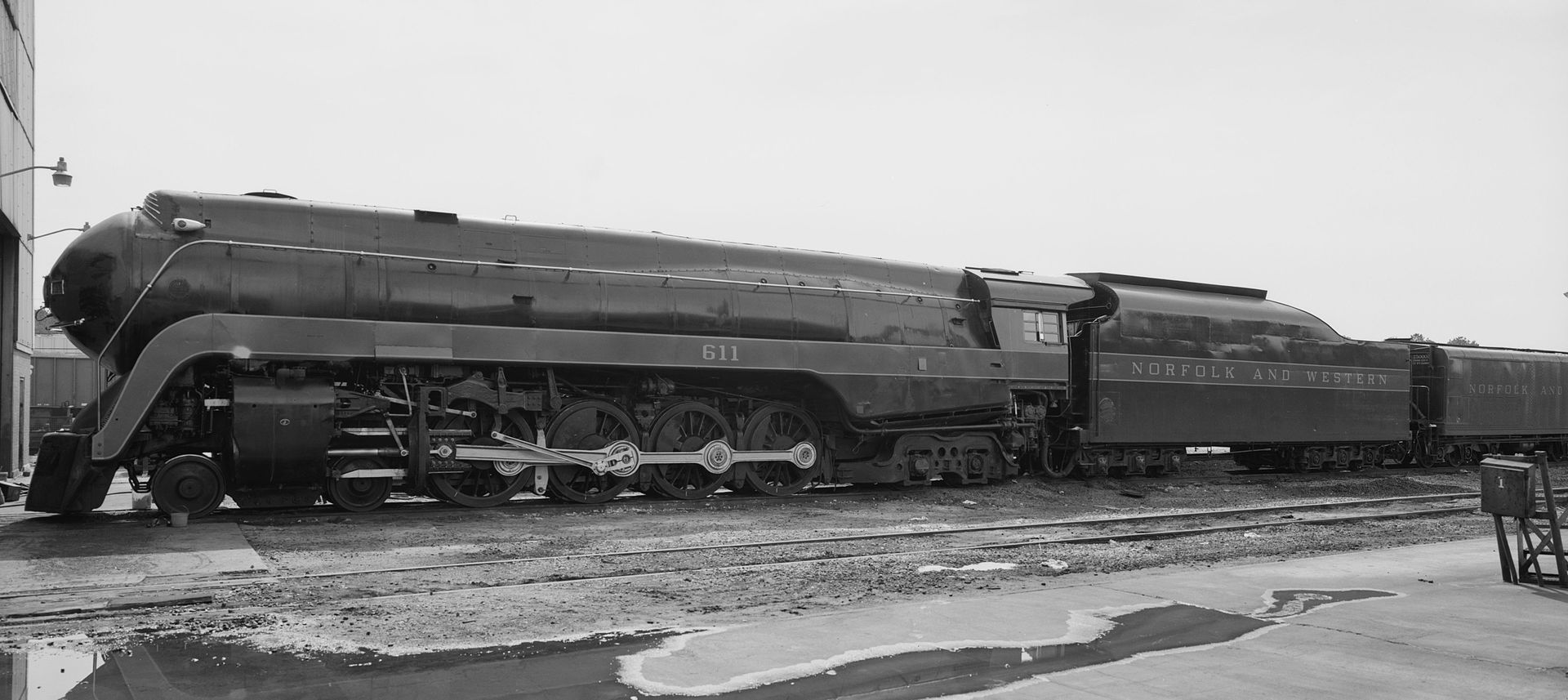 Norfolk And Western Railway S J Class Steam Locomotives