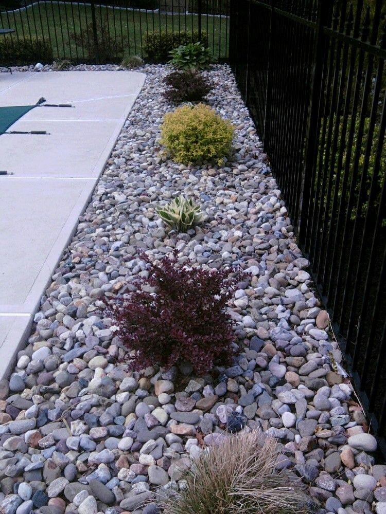 easier clean pool landscape