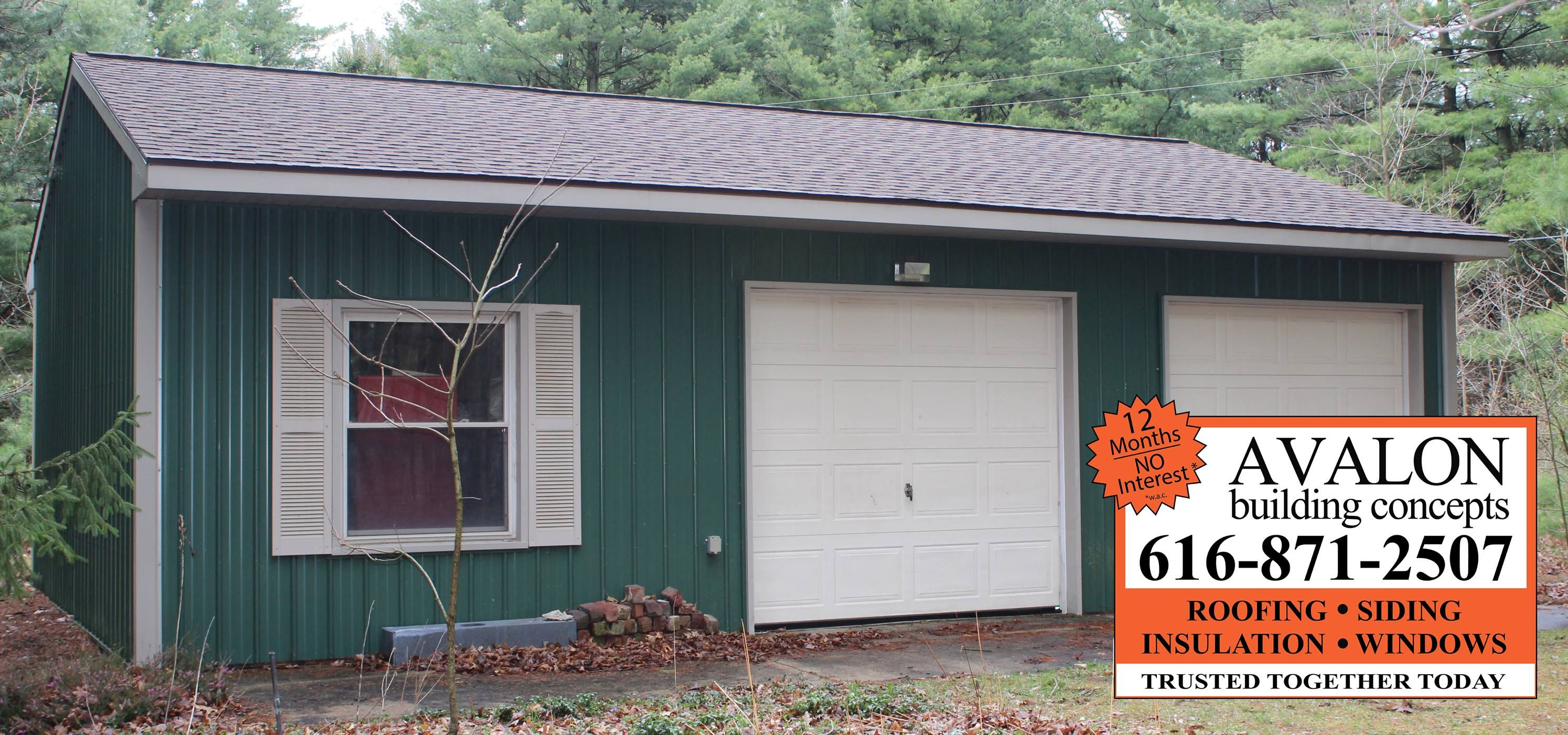 Best Comstock Park Garage Roof Saves Insurance On Stored 640 x 480