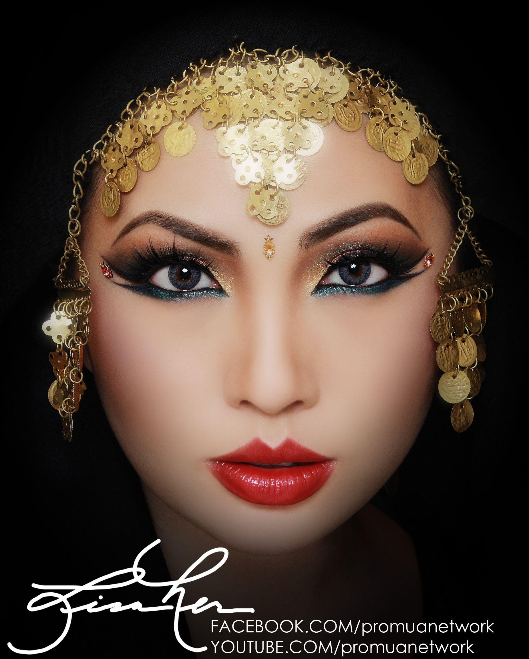 Exotic Arabic Inspired Makeup Tutorial   Make-up Artistry ...