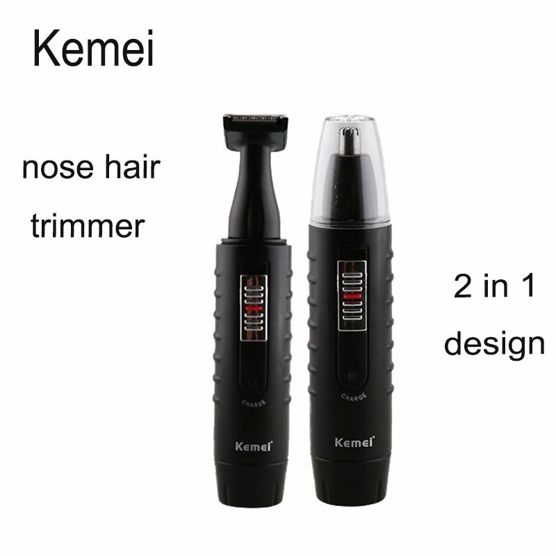 Kemei 9688 New Rechargeable 2 In 1 Beard Hair Shaver Nose Ear Hair Trimmer In Nose Ear Trimmer From Health Bea Hair Shaver Ear Hair Trimmer Shaving Trimmer