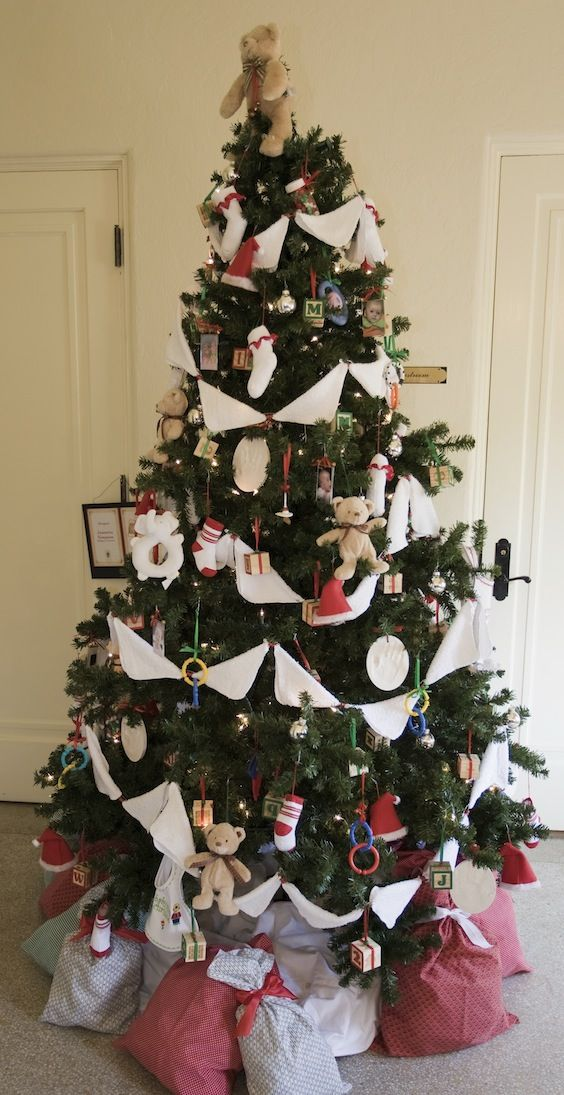 Baby Themed Christmas Trees Christmas Tree Themes Christmas Tree Xmas Tree