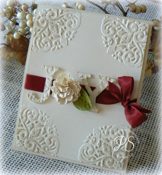 Stampin' Up! Christmas  by Penny Smiley at Stampsnsmiles