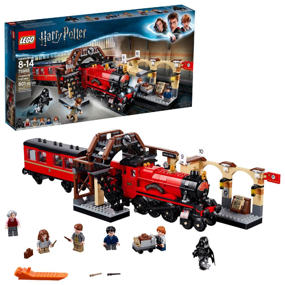 Lego Harry Potter Hogwarts Express 75955 Toy Model Train Building Set Walmart Com In 2021 Lego Hogwarts Harry Potter Lego Sets Lego Harry Potter