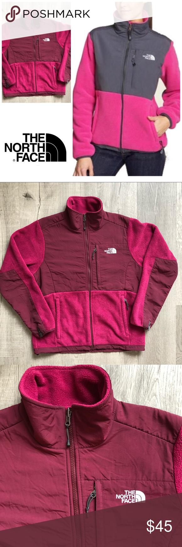 The North Face Jacket Denali Raspberry Fleece Zip North Face Jacket Clothes Design Fashion [ 1740 x 580 Pixel ]